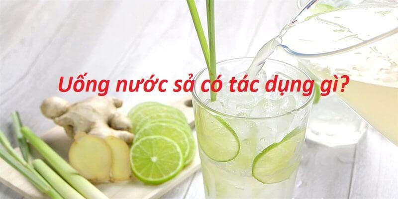 uống nước sả có tác dụng gì