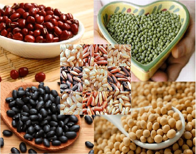 Nguyên liệu làm bột ngũ cốc