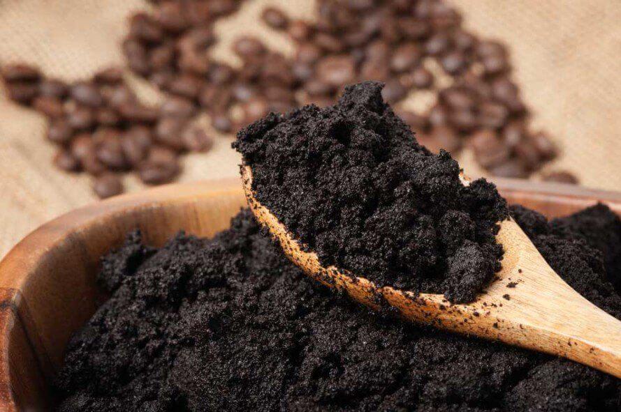 Cám gạo cafe giúp tẩy tế bào chết