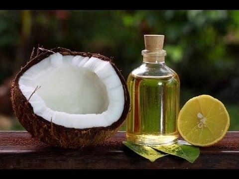 Dầu dừa và chanh giúp chữa bạc tóc sớm