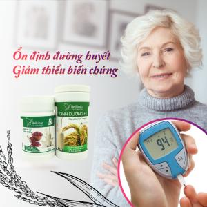 Gạo lứt dành cho người tiểu đường bellrings dinh dưỡng f1