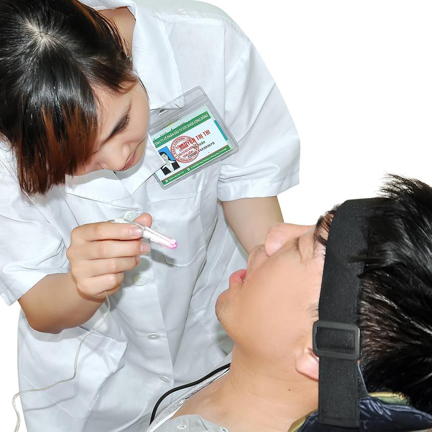 Trị liệu lase điều trị viêm chân răng