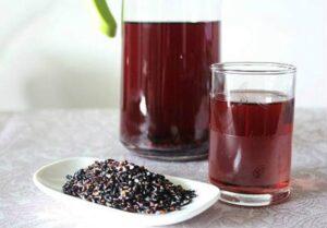 Cách làm bột gạo lứt mè đen giảm cân