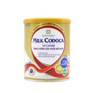 Milk Codoca Bổ sung canxi hiệu quả
