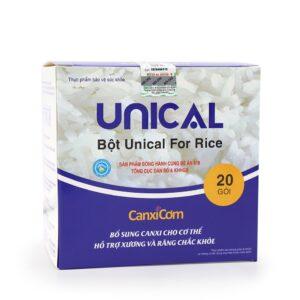 Hộp Canxi cơm Unical