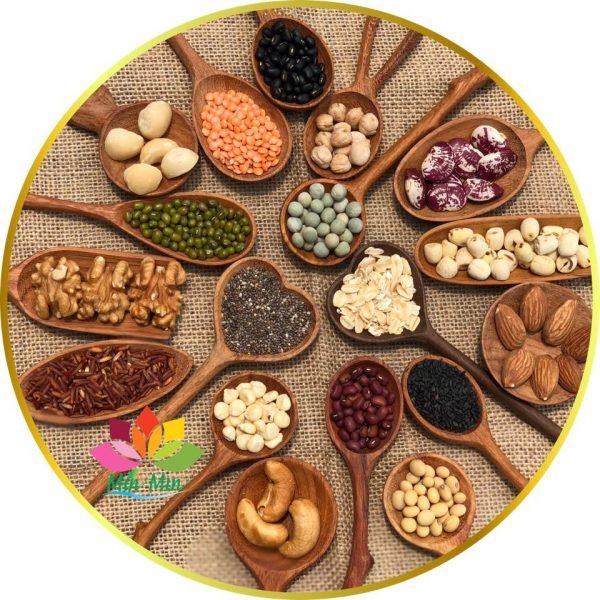 Thành phần tạo nên bột ngũ cốc dinh dưỡng min min