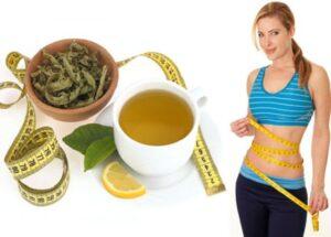 Uống trà gạo lứt giảm cân